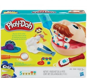 Dentysta 4+ Play-Doh