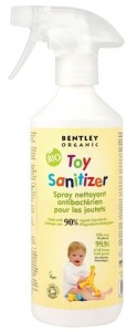 Spray do dezynfekcji zabawek 500 ml Bentley Organic