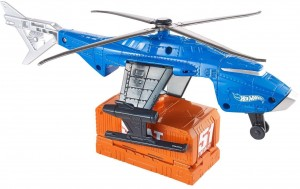 Helikopter S.W.A.T.  + autko 4+ Hot Wheels