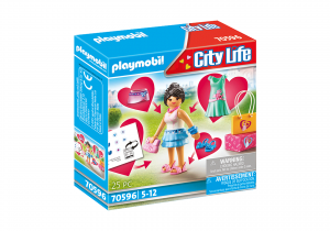 City Life Fashion Girl 70596 5+ Playmobil