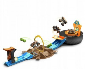 Monster Trucks Opona Kaskaderska Arena 4+ Hot Wheels