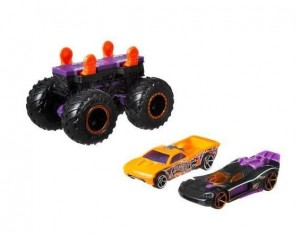 Monster Trucks Pojazd Maker Bone fioletowy 3+ Hot Wheels