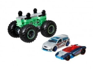 Monster Trucks Pojazd Maker Bone zielony 3+ Hot Wheels