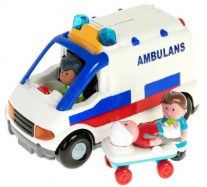 Ambulans na ratunek Karetka 12m+ Smily Play