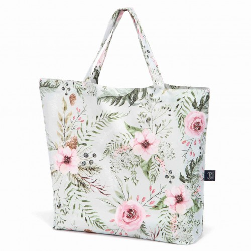 Shopper Bag Wild Blossom Mint La Millou.jpg