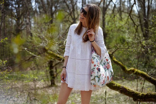 Shopper Bag Wild Blossom Mint La Millou-5.jpg