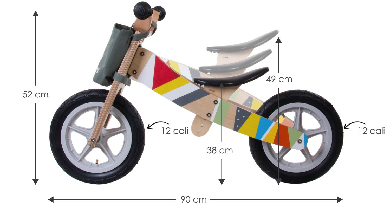 rowerek biegowy twist - rowerek dwukołowy